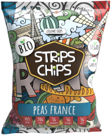 BIO STRiPS CHiPS - Peas France 90 g